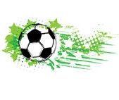 Contemporary Art Football background