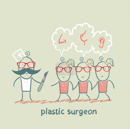 plastic surgeon patients and listens to their wishes