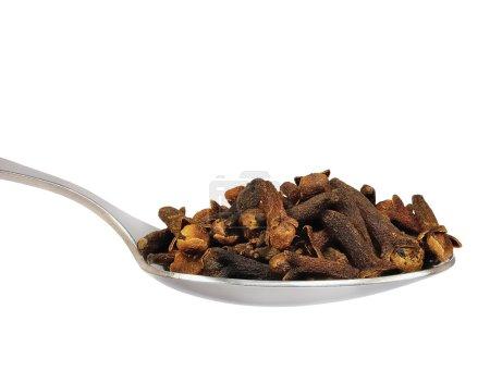 Cloves Macro Closeup, Isolated Teaspoon Of, Spoonful Spoon