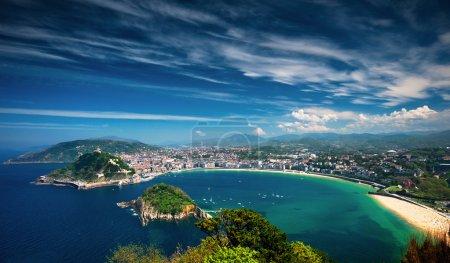 Photo pour San sebastian, Espagne - image libre de droit