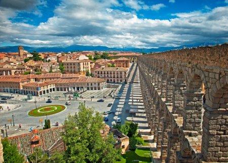 Segovia Aqueduct in Segovia