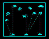 attack of space invaders