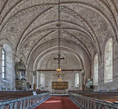 Old Uppsala church
