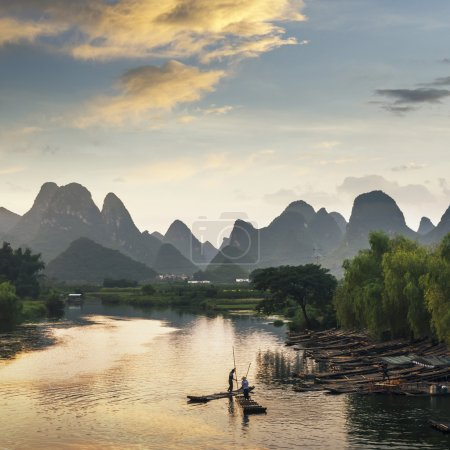 yangshuo and guilin in china