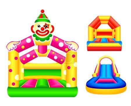 Bouncing castles