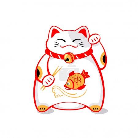 Japanese lucky cat
