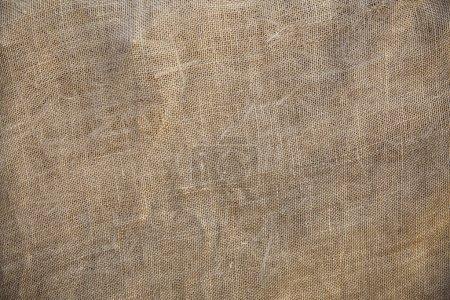 Rustic Old Fabric Burlap Texture Backgroun