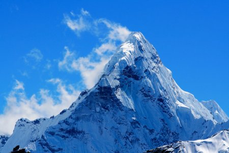Photo for Mt. Ama Dablam in the Everest Region of the Himalayas, Nepal. - Royalty Free Image