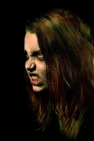 Mentally ill girl. Demon possession...