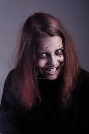 Girl possessed by a demon. In Conspiracy With Sata...