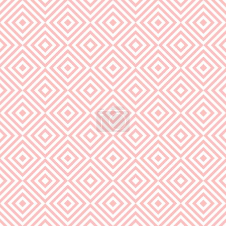 Illustration for Background of seamless geometric pattern - Royalty Free Image