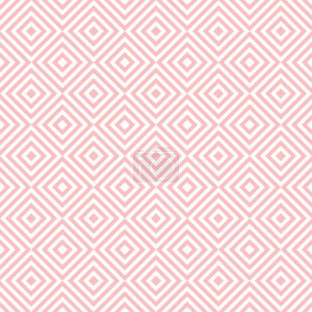 Ilustración de Historia de un patrón geométrico sin fisuras - Imagen libre de derechos