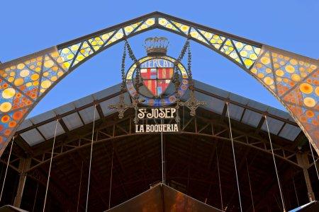 Photo pour Mercat de la boqueria, Barcelone, Espagne. - image libre de droit
