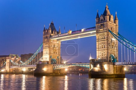 Photo pour Tower bridge, Londres, Royaume-Uni - image libre de droit