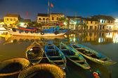 Nachtaufnahme von Hoi an vietnam