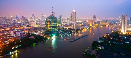 Photo for Bangkok skyline, Thailand. - Royalty Free Image