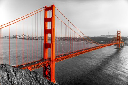 Photo pour Golden Gate, San Francisco, Californie, USA . - image libre de droit