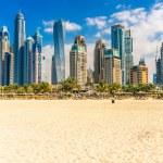 Skyscrapers in Dubai Marina. UAE...