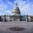 United State Capitol Building for congress with am...