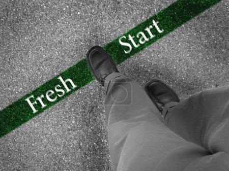 Walking Towards a Fresh Start