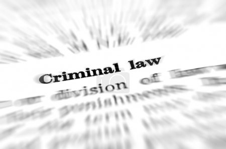 Definition of Criminal Law