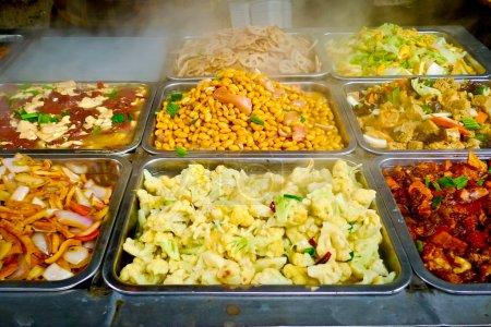 Chinese food buffet