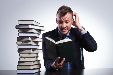 business man doesn't understand book