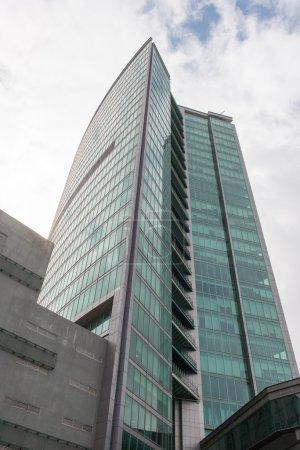 Photo pour Un highrise moderne de construction à bangalore, Inde - image libre de droit