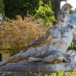 Famous statue Wounded Achilles in the garden of Ac...
