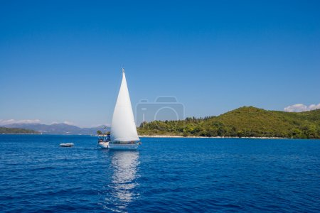 Yacht. Sailing. Yachting. Tourism
