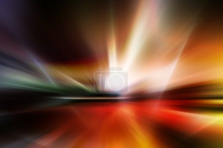 Abstract background in red, yellow and orange colors