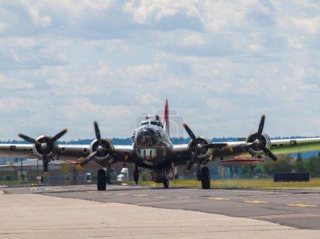 World War 2 B17 Bomber