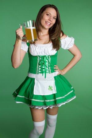 Irish Beer Woman