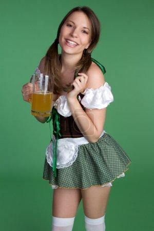Saint Patricks Day Girl