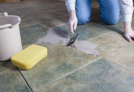 Tile Grout Repair