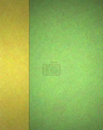 gold and green background website template design with sidebar