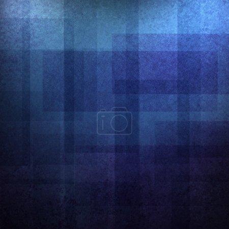 Photo pour Conception abstraite de motif de fond bleu avec des couleurs bleu clair et foncé et vintage grunge matériel d'art graphique de mise en page de fond sur les annonces de brochure ou le fond de modèle Web pour le style créatif artistique - image libre de droit