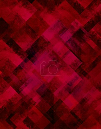 red abstract background diamond shape pattern grunge texture