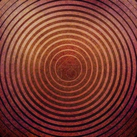 Photo pour Fond abstrait, couleur chaude rouge brun, éléments de design ligne or jaune et texture de fond grunge vintage, look rétro ou arrière-plan art stylisé urbain pour la mise en page de brochure art graphique - image libre de droit