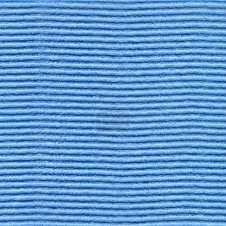 Photo for Cellulose sponge cloth texture in blue color as background. - Royalty Free Image