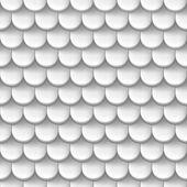 Absztrakt háttér fehér színű tető cserép mintával