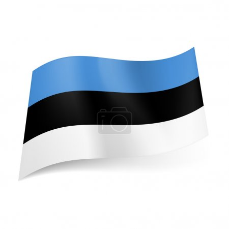 State flag of Estonia.