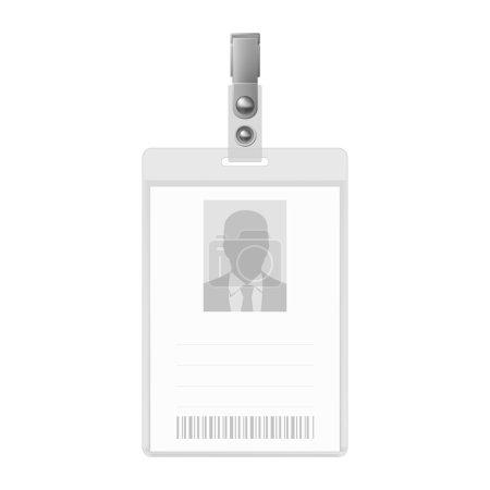 Blank badge.