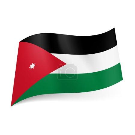 State flag of Jordan