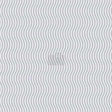 Illustration for Abstract background of grey and white wavy lines - Royalty Free Image