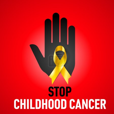 Stop Childhood Cancer sign