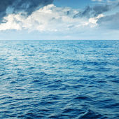 Rocks and sea over sea