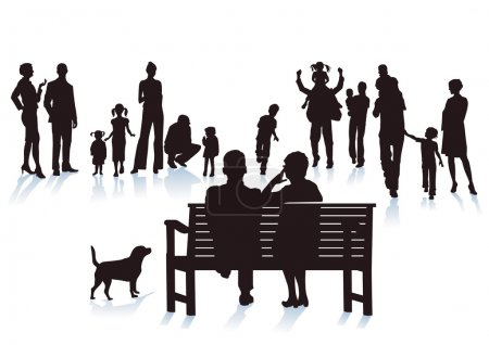 Parents, grandparents and children