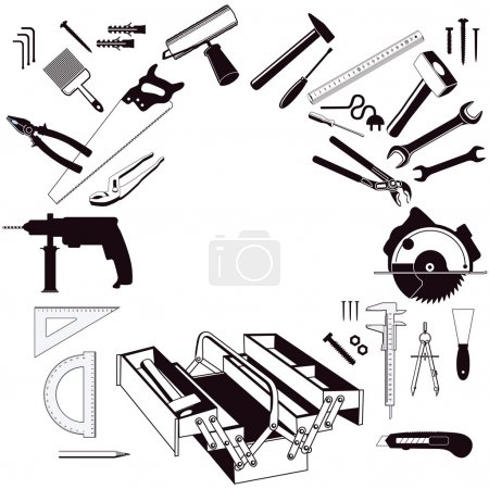 Photo for Hand Tools - Royalty Free Image