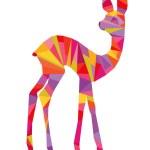 Постер, плакат: Colorful bambi